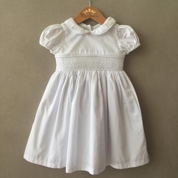 Vestido Casinha de Abelha Branco