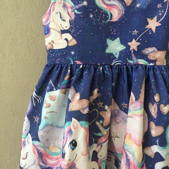 Vestido de Festa Mon Sucré Little Unicorn