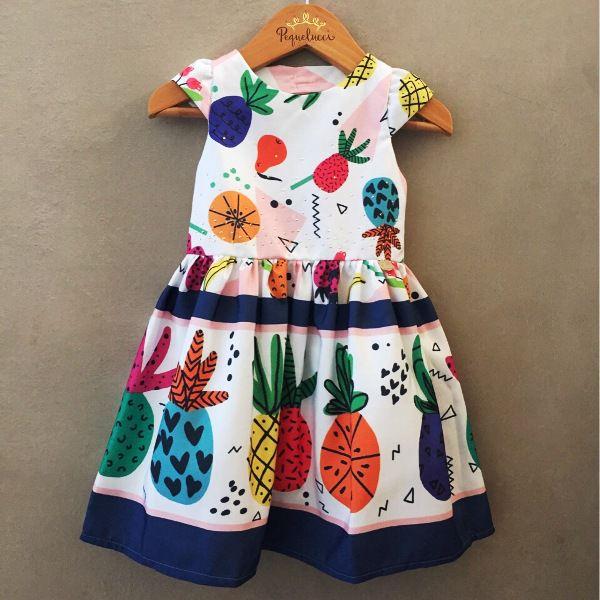 Vestido de Festa Mon Sucré Tropical