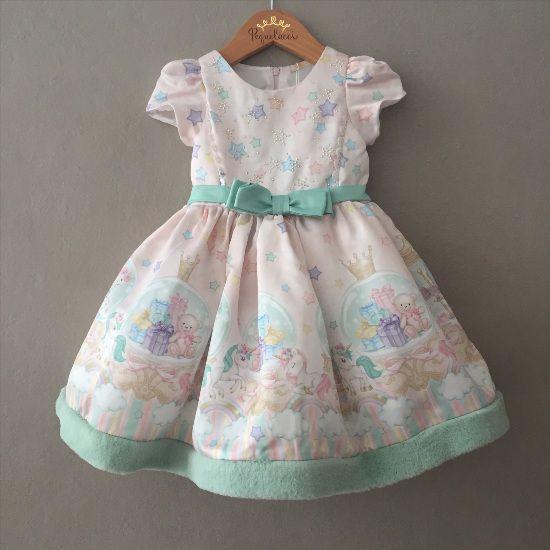 Vestido de Festa Petit Cherie Carrossel Encantado