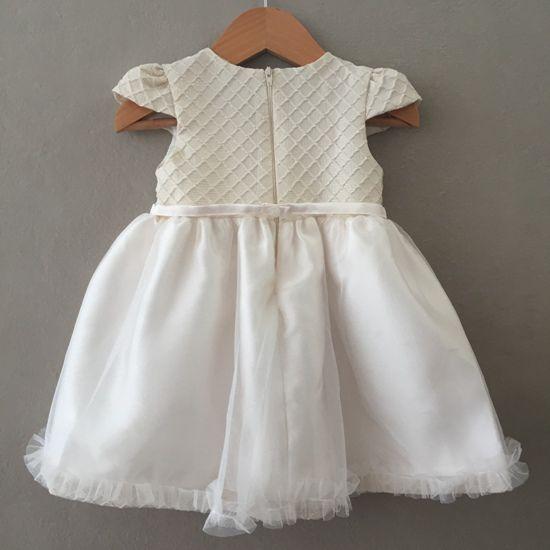 Vestido de Festa Petit Cherie Favo de Mel