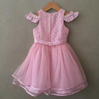 Vestido de Festa Petit Cherie Luxo Rosa