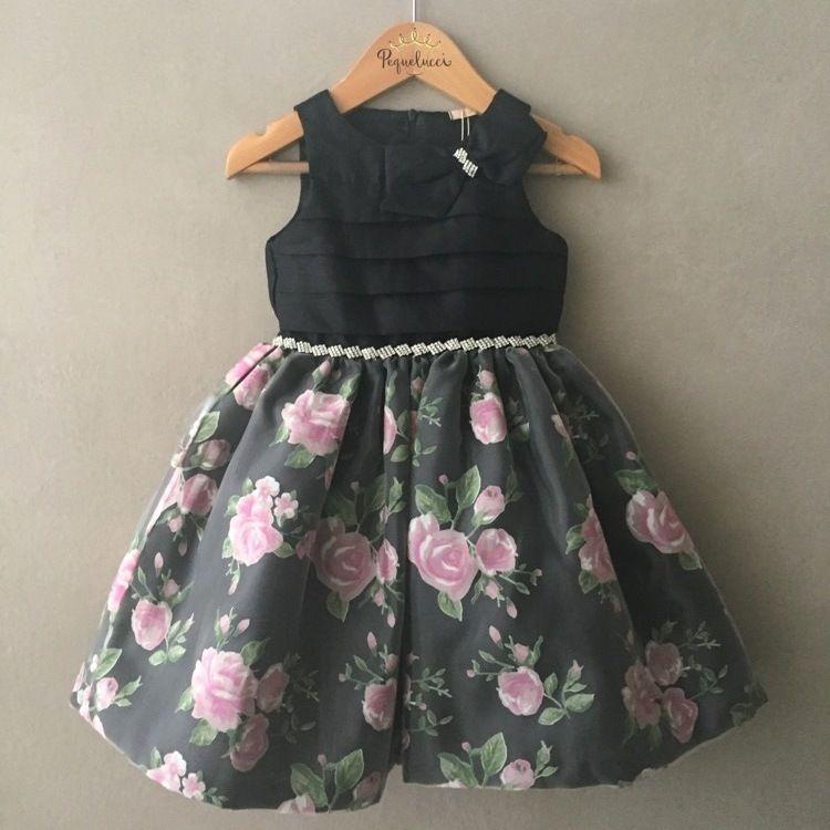 Vestido Infantil de Festa Petit Cherie Sweet Flowers