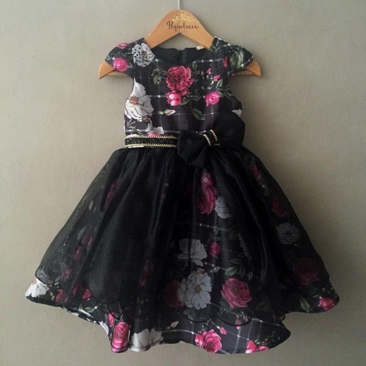 9527933dc Vestido Infantil de Festa Sweet Garden Petit Cherie