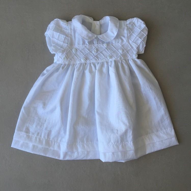 Vestido de Festa Póssum em Tafetá Branco