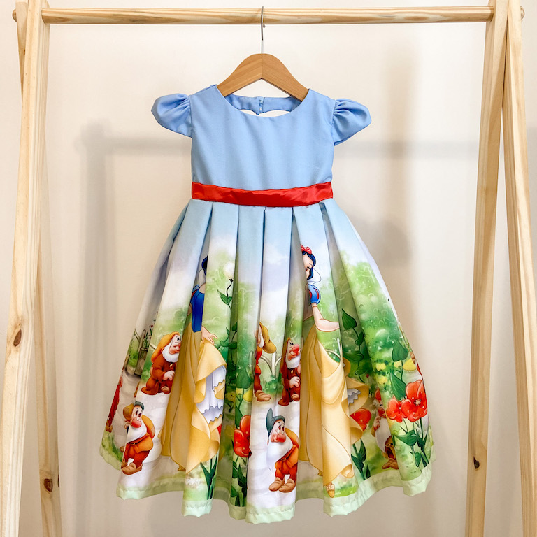 Vestido de Festa Rodado Princesa da Maçã