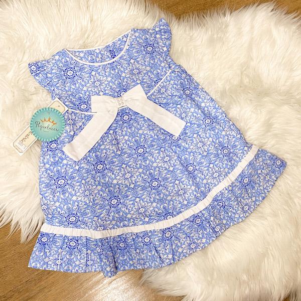 Vestido Estampa Azulejo Português