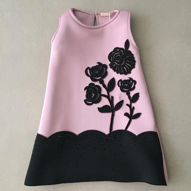 Vestido Infantil Petit Cherie Sweet Roses