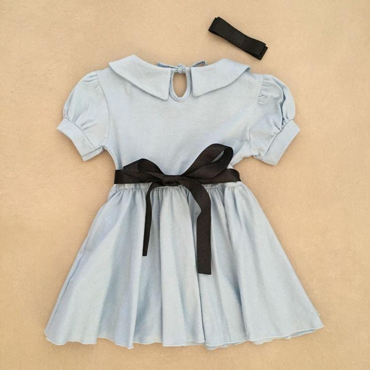 Vestido Infantil Princesa Alice
