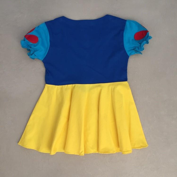 Vestido Infantil Princesa da Maçã