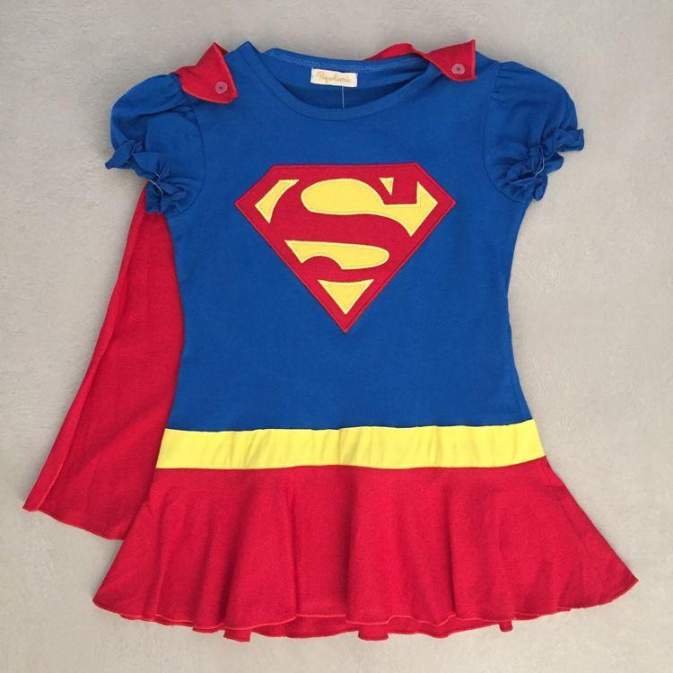 Vestido Infantil Super Menina