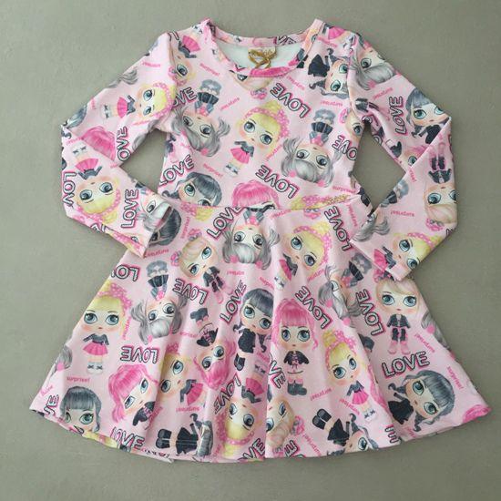 Vestido Le Petit Kukiê Boneca Surpresa