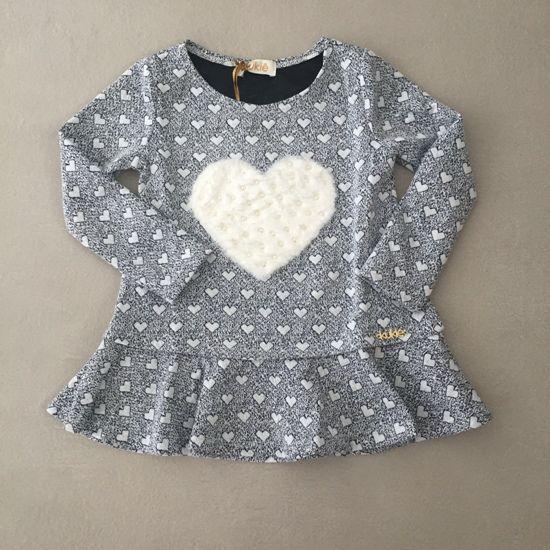 Vestido Le Petit Kukiê Corações