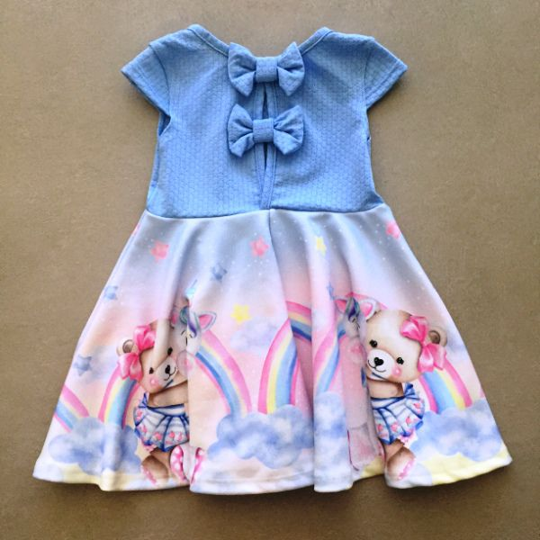Vestido Le Petit Kukiê Lovely Dreams