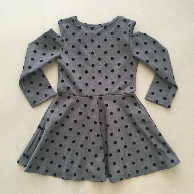 Vestido Infantil Poá Le Petit Kukiê