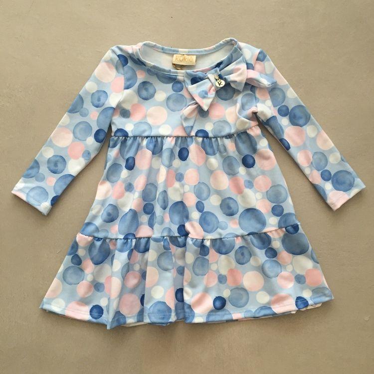 Vestido Infantil Sweet Bubbles Le Petit Kukiê