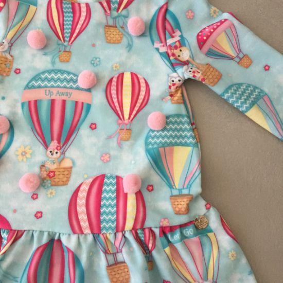 Vestido Mon Sucré Balões com Bolsinha