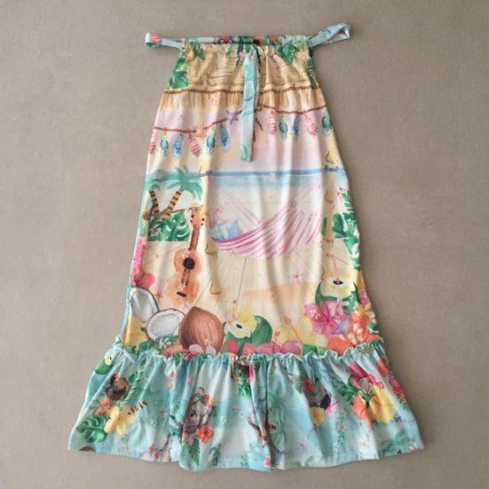 Vestido Mon Sucré Hawai Longo