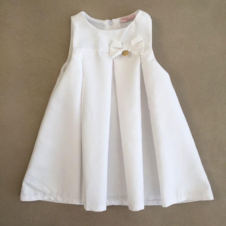 9ee47536ae OFF. Vestido Infantil Mon Sucré Trapézio Branco