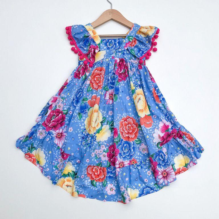 Vestido Mullet Floral