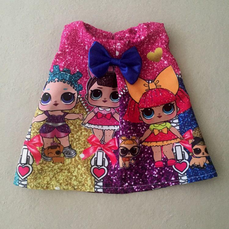 Vestido para Boneca Glitter Surprise Doll
