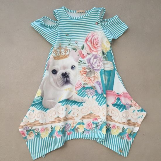 Vestido Petit Cherie Cachorrinha