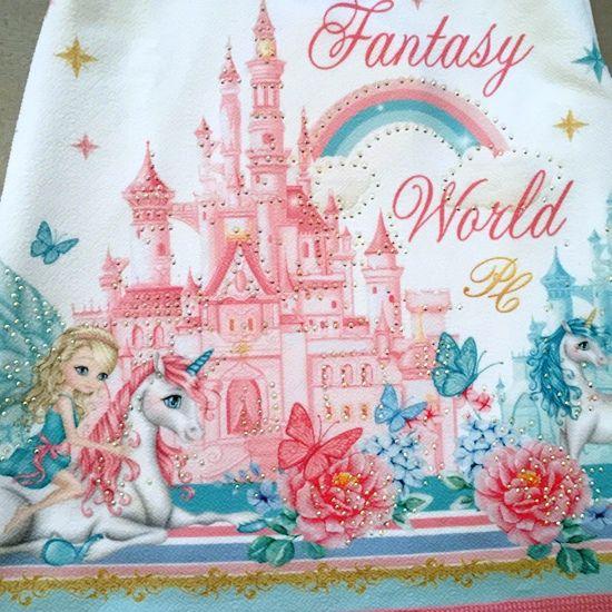 Vestido Petit Cherie Fantasy World