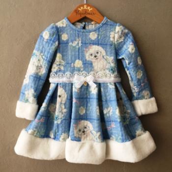 Vestido Petit Cherie Little Dog Inverno
