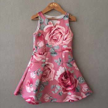 Vestido Petit Cherie Little Roses