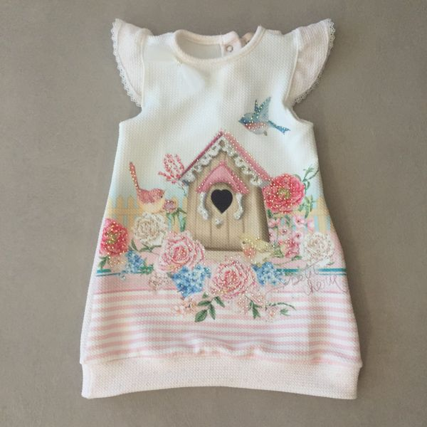 Vestido Petit Cherie Lovely Birds