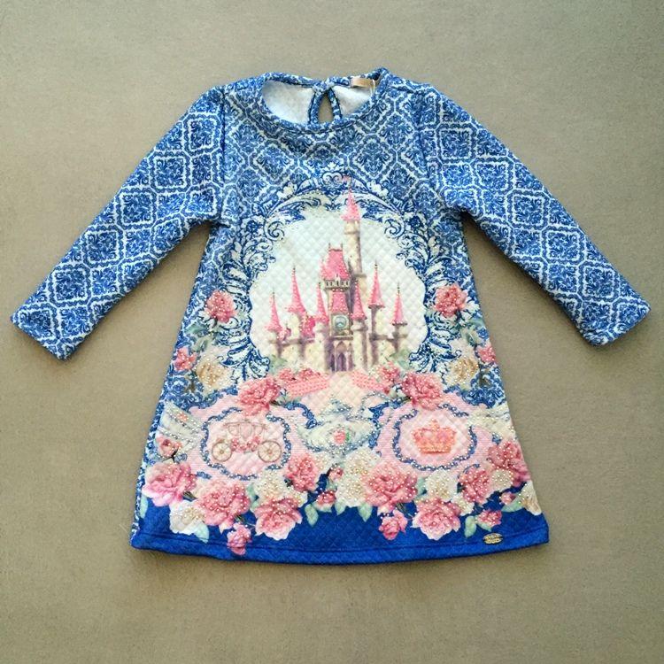 Vestido Infantil Sweet Castle Petit Cherie