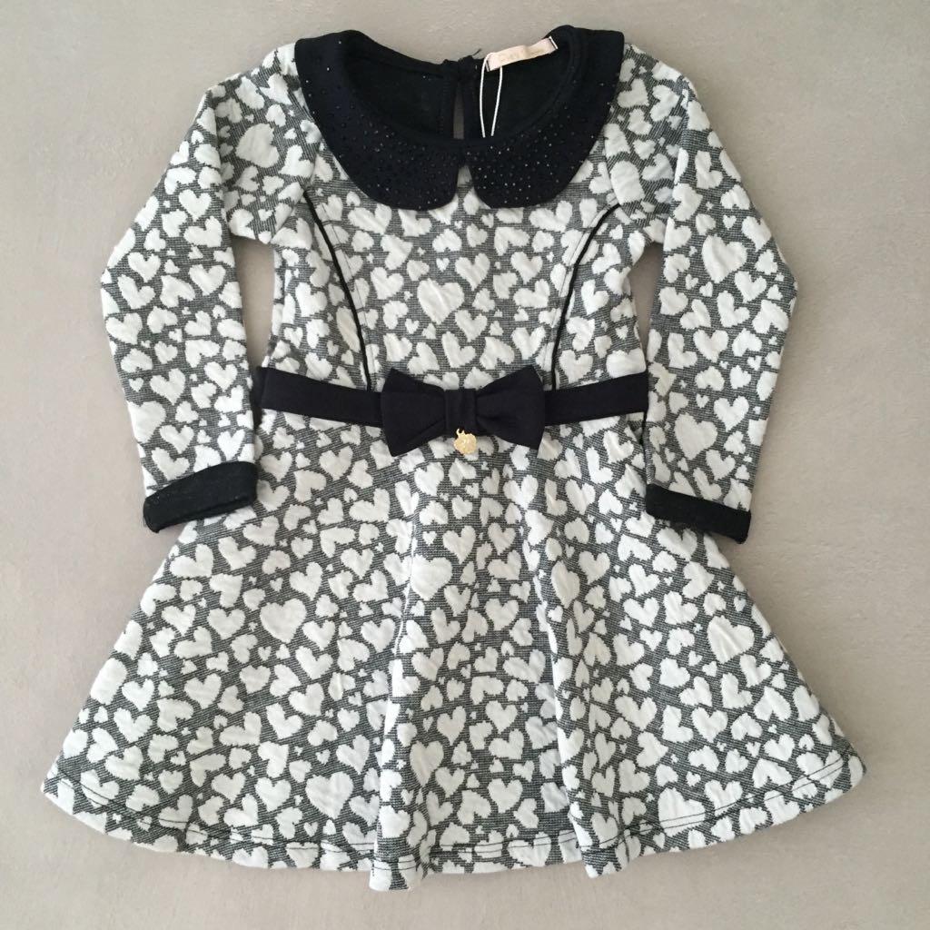 Vestido Infantil Sweet Hearts Petit Cherie