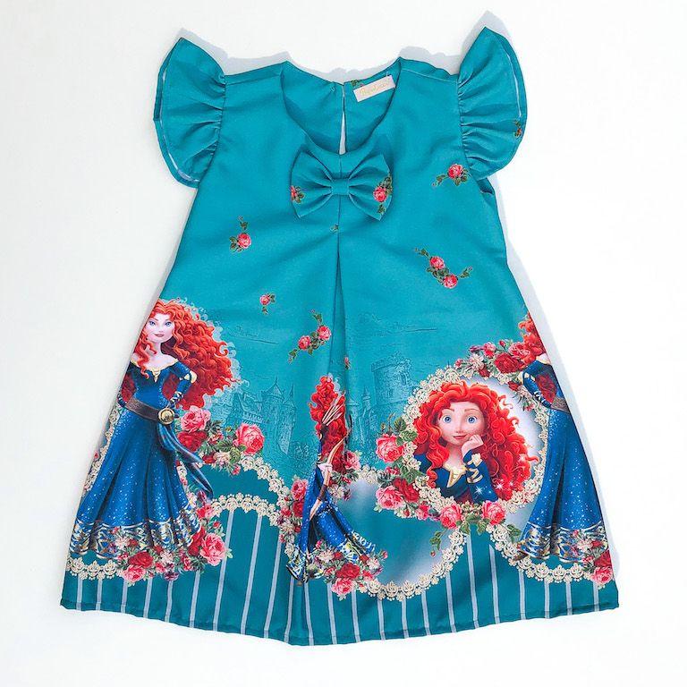 Vestido Trapézio Princesa Corajosa