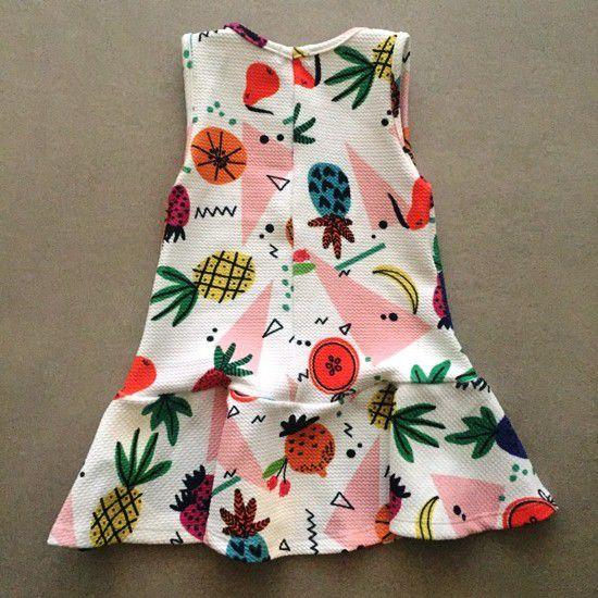 Vestido Tropical Mon Sucré