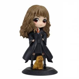 Banpresto Harry Potter Qposket Hermione Granger with Crookshanks