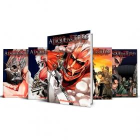 Box Ataque dos Titãs Vols. 1 ao 5