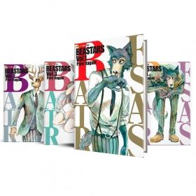 Box Beastars Vols. 1 ao 4