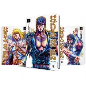 Box Hokuto no Ken Vols. 1 ao 3
