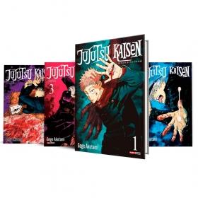 Box Jujutsu Kaisen - Batalha de Feiticeiros Vols. 1 ao 4