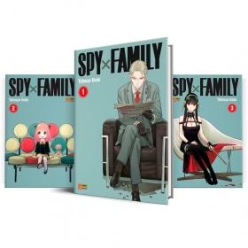Box Spy X Family Vols. 1 ao 3