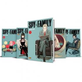 Box Spy X Family Vols. 1 ao 5
