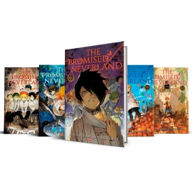 Box The Promised Neverland Vols. 6 ao 10