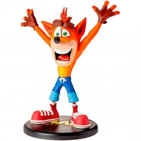 First 4 Figure Crash Bandicoot  Painted Statue Crash Bandicoot