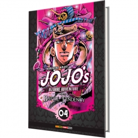 Jojo's Bizarre Adventure Parte 2 - Battle Tendency Vol. 4