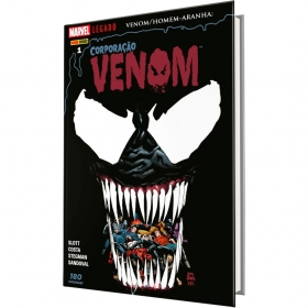 Marvel Legado - Venom/Homem-Aranha Vol. 1 - Corporação Venom