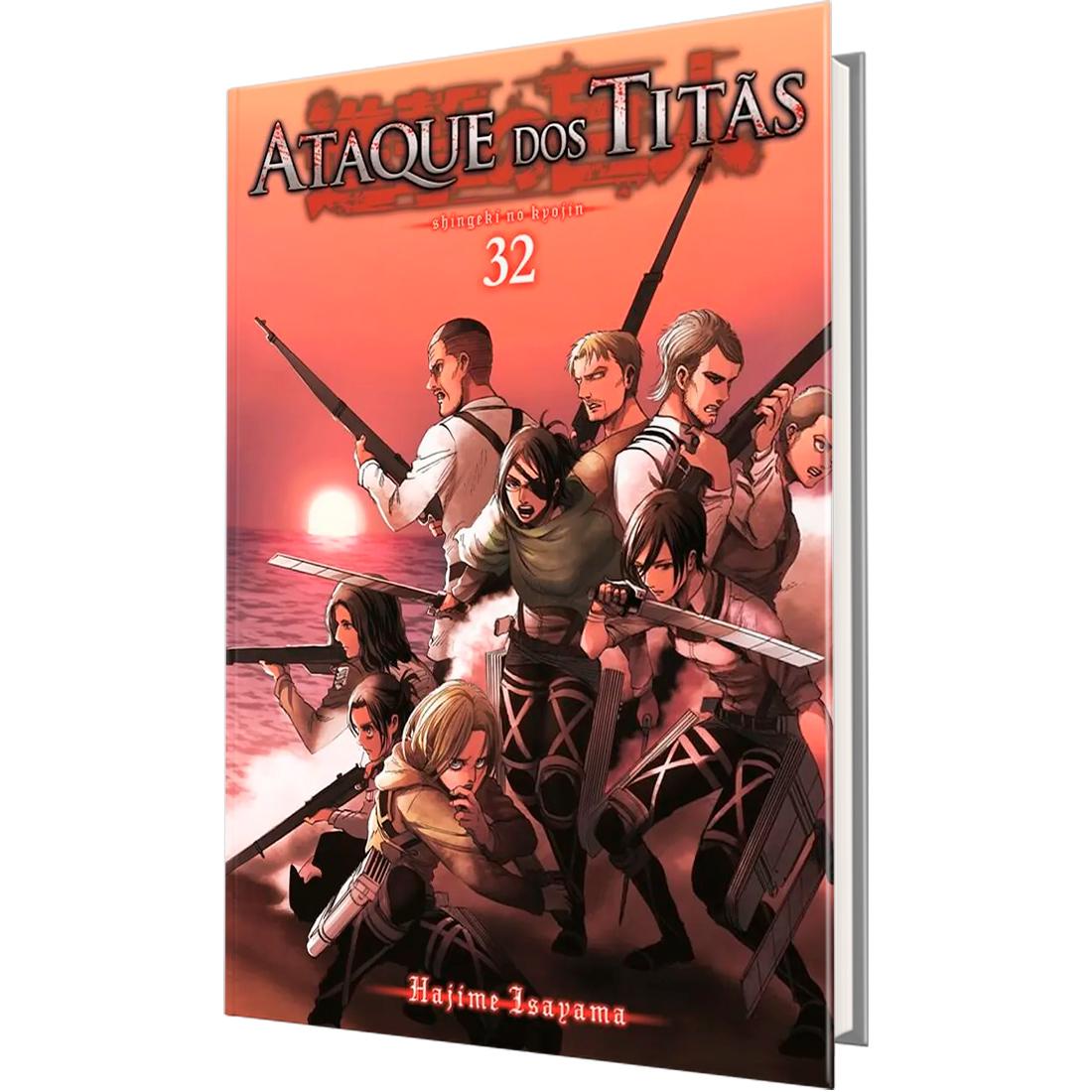 Ataque dos Titãs Vol. 32