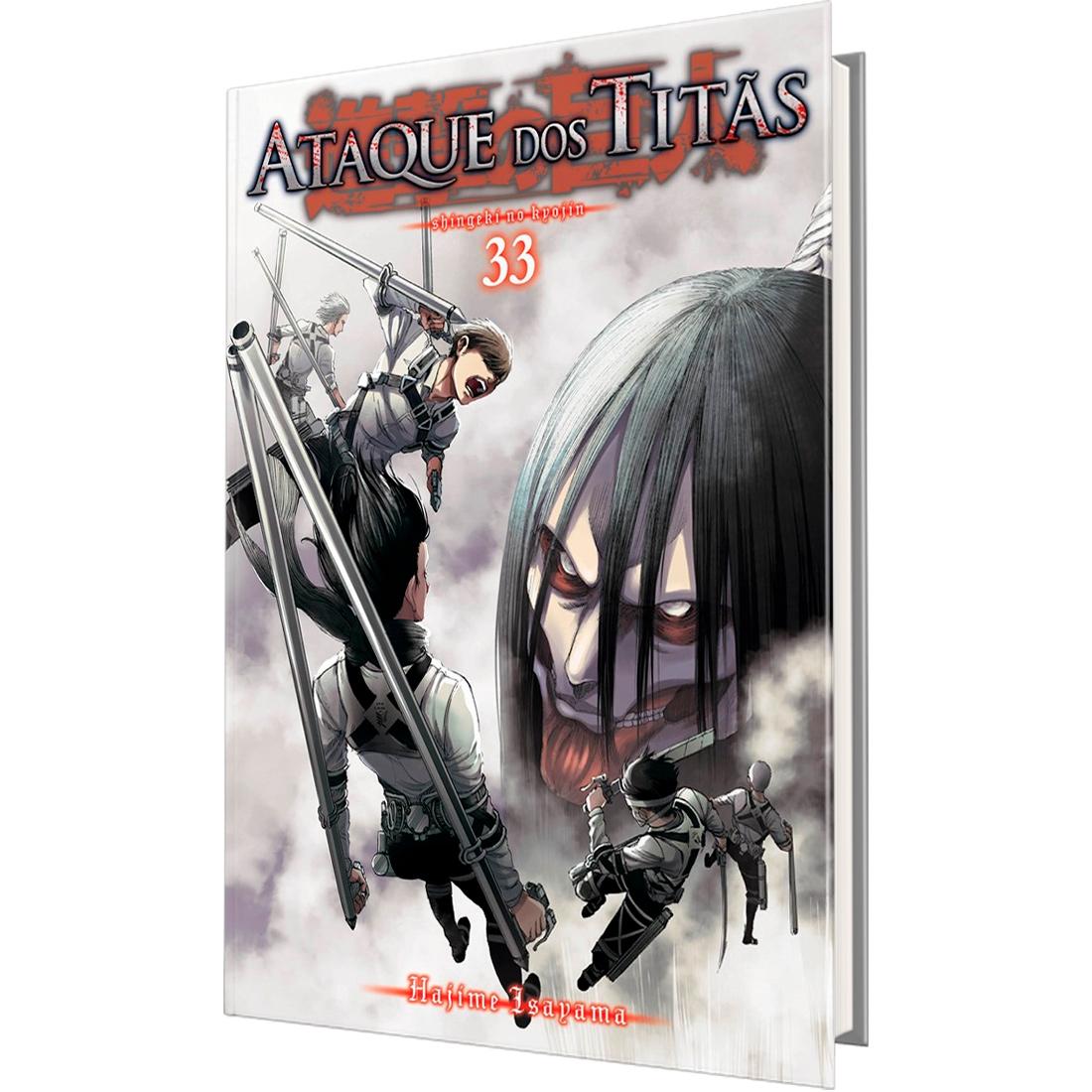 Ataque dos Titãs Vol. 33