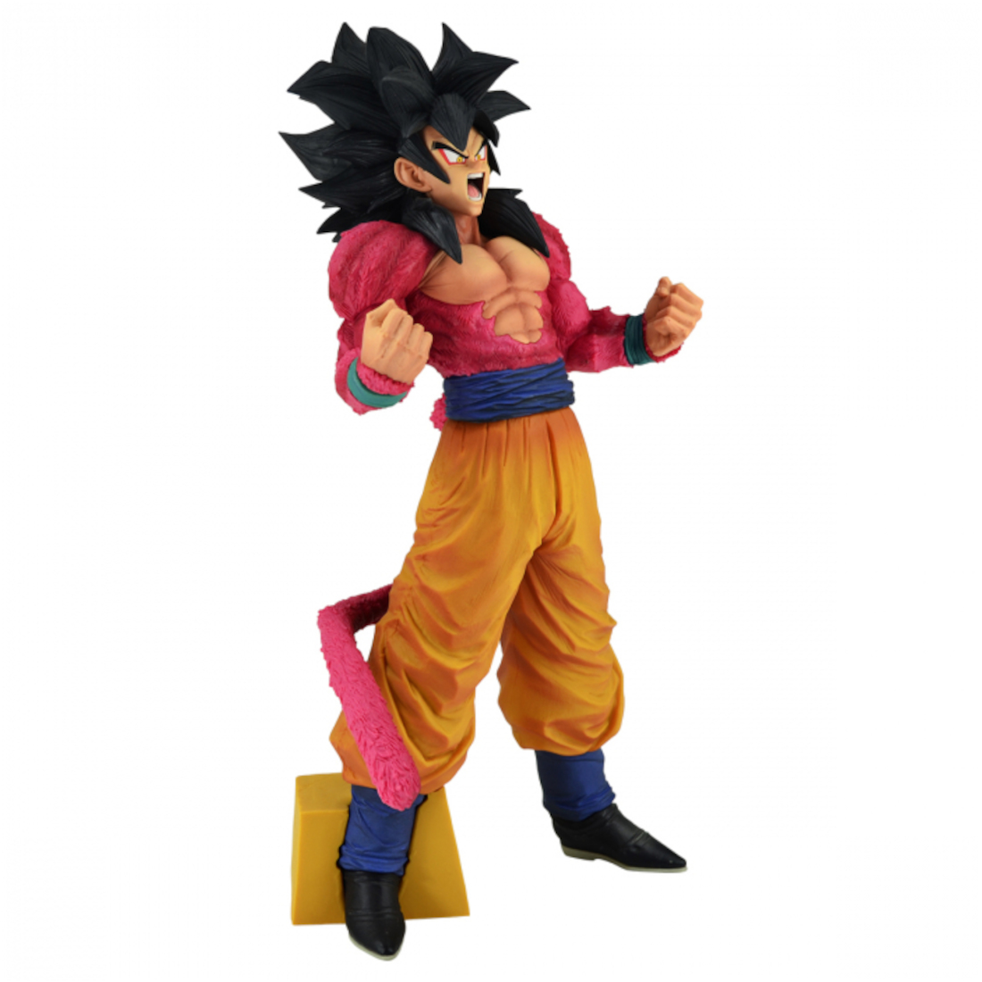 Banpresto Dragon Ball GT Super Master Stars Piece The Brush The Super Saiyan 4 Son Goku