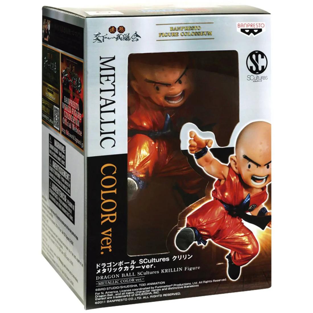 Banpresto Dragon Ball SCultures Metallic Color Ver. Krillin