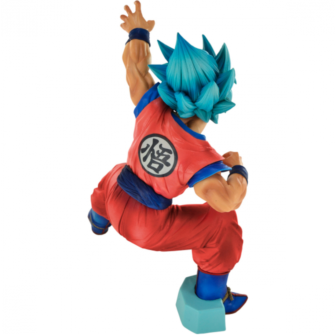 Banpresto Dragon Ball Super King Clustar Big Size Super Saiyan God Super Saiyan Goku